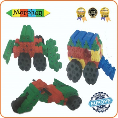 Đồ chơi trí tuê Morphun Vehicles Construction Set